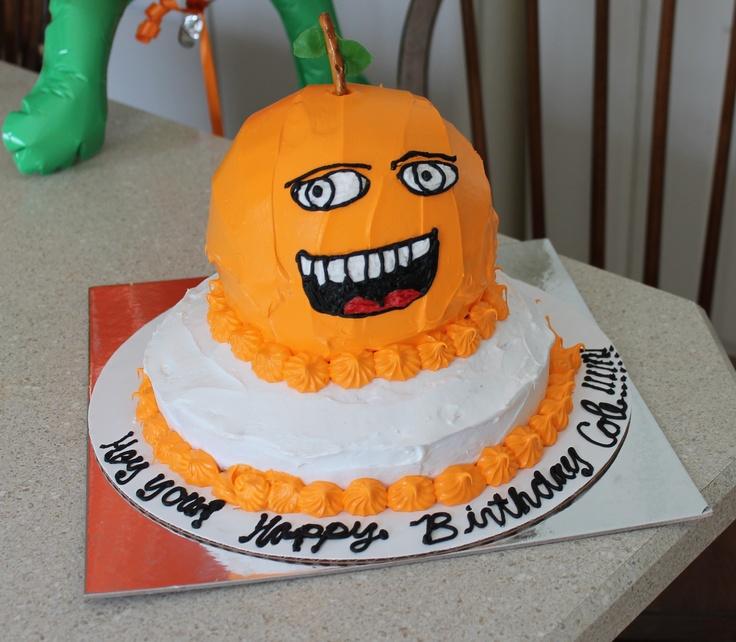 Annoying Orange Cake! birthday party ideas Pinterest