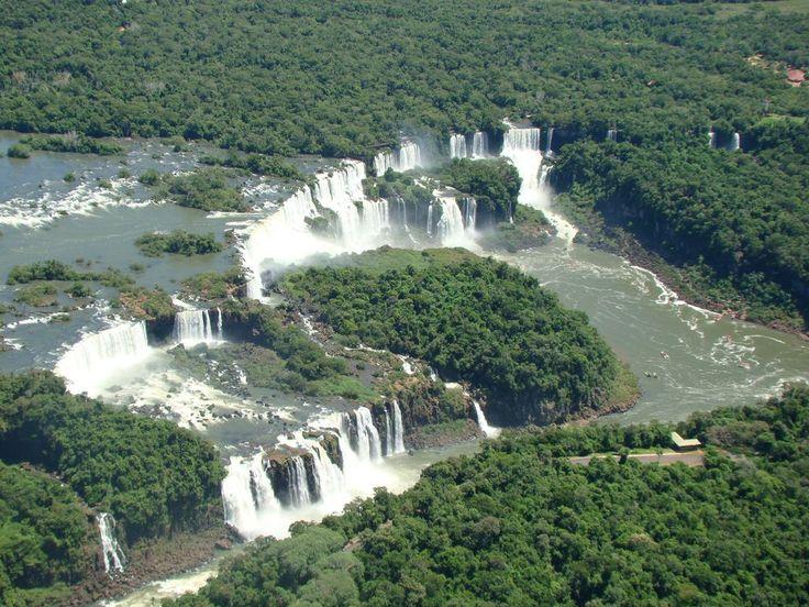 travel from rio de janeiro to iguazu falls