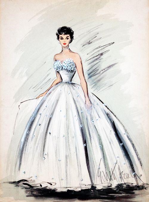 Edith Head Famous Dresses Costume design by Edit...