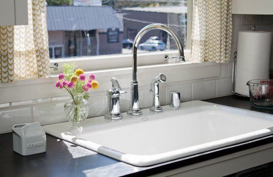 Drop In Sinks For Kitchen : All About: Drop-In Kitchen Sinks ? Sink Spotlight
