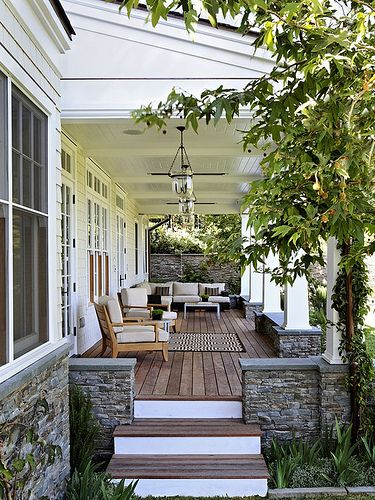perfect front porch...love the colors
