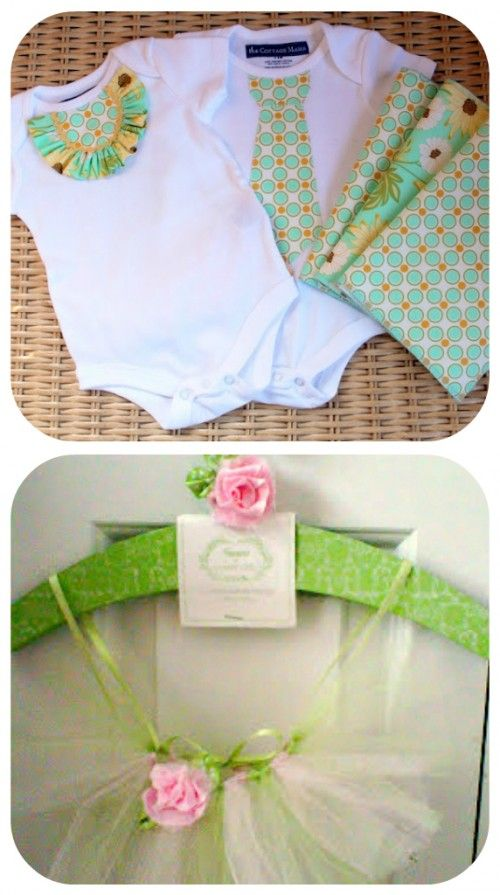 Website With Lots Of DIY Baby Stuff  including: flower bow, tutut, quiet books, and baby shoes