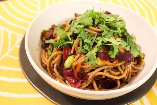 Spicy Soba Noodles With Shiitakes Recipes — Dishmaps