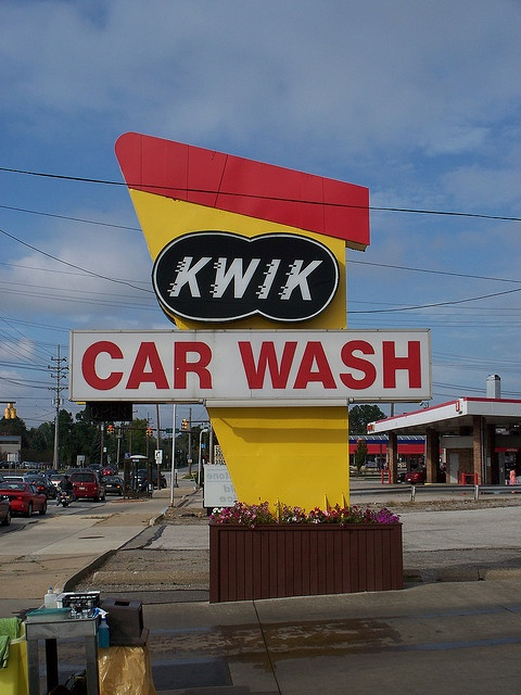 Kwik Car Wash.... Middleburg Heights, Ohio.