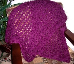 Quick and easy prayer shawl free pattern Knit/Crochet ...