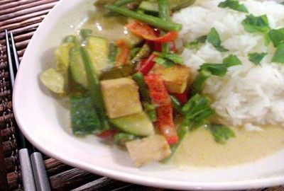 Thai Vegetable Green Curry | Recipes | Pinterest