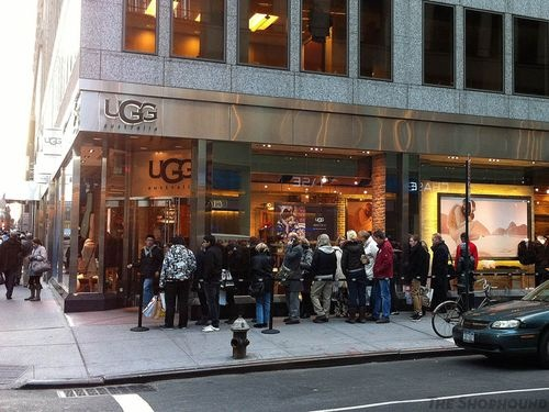 where is the ugg outlet in new york