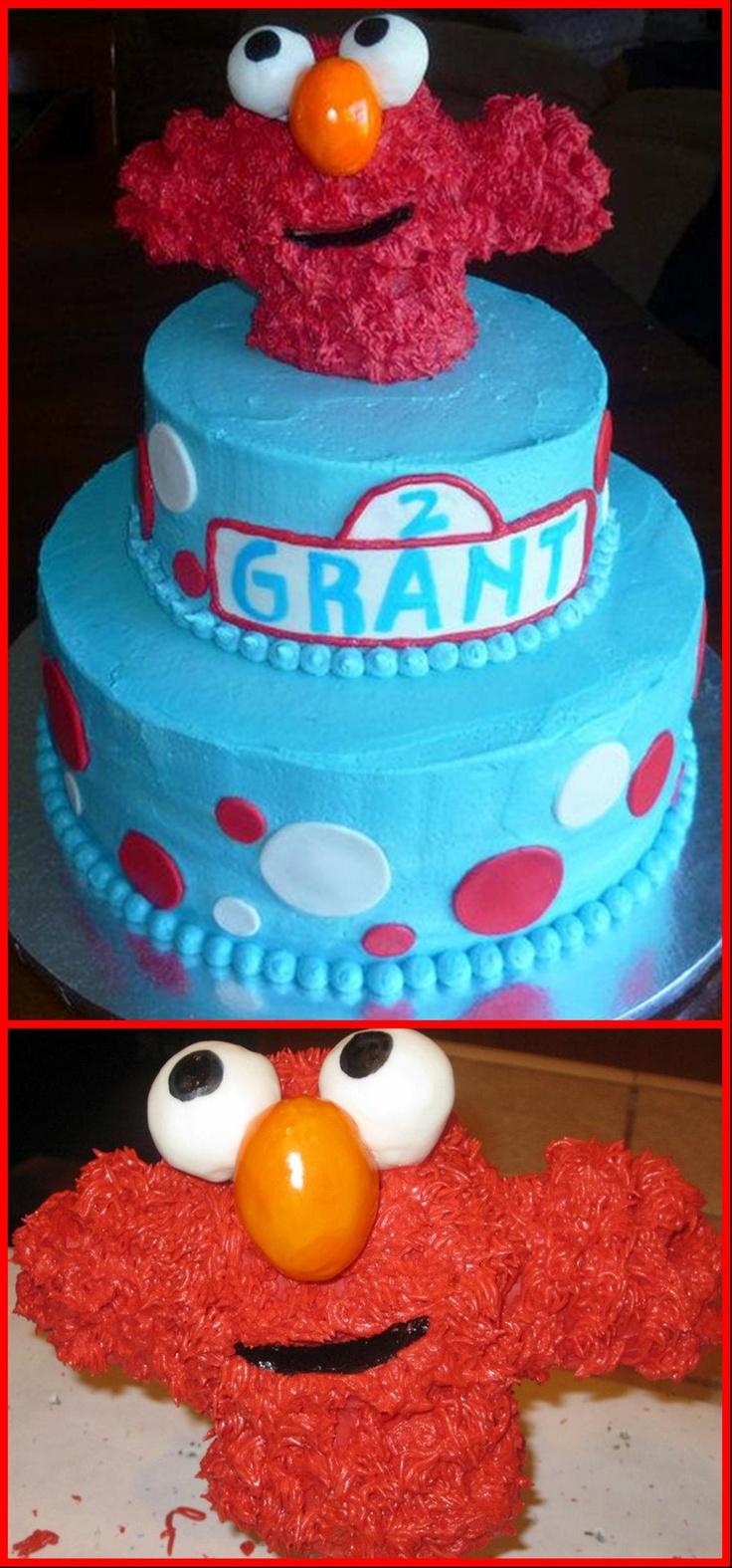 Elmo Birthday Ideas For 2 Year Old ~ Cake Ideas and Birthday ...