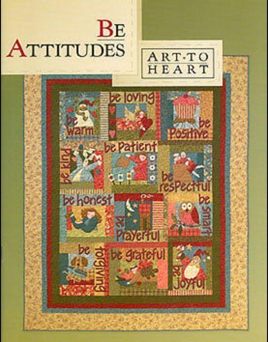 Line Art Quilt Pattern : Be attitudes quilt pattern art to heart nancy halvorsen