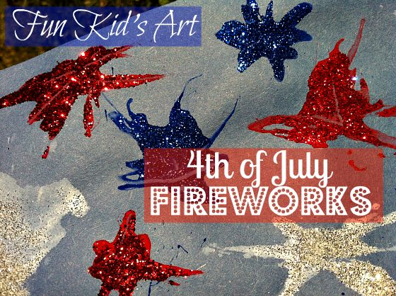 4th of july art for kindergarten