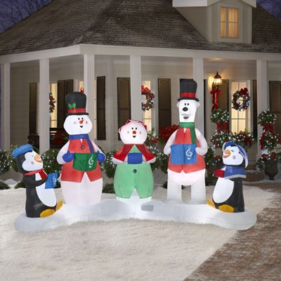 Pin by maryann alek on holiday 1 pinterest for Air blown christmas decoration