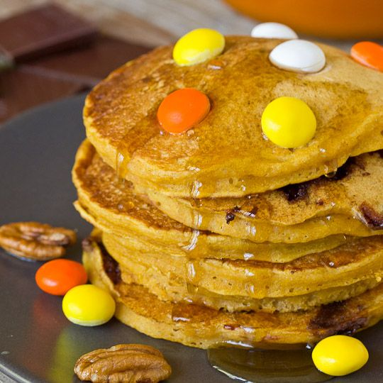 ... Recipe: Pumpkin-Chocolate Chunk Pancakes Recipes from The Kitchn