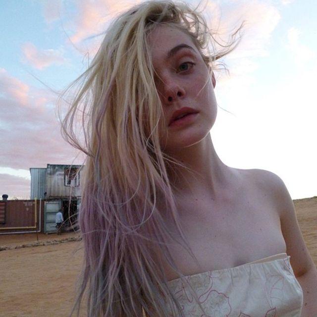 "Elle Fanning: ""Pr... Dakota Fanning Instagram"