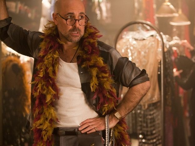 is stanley tucci gay