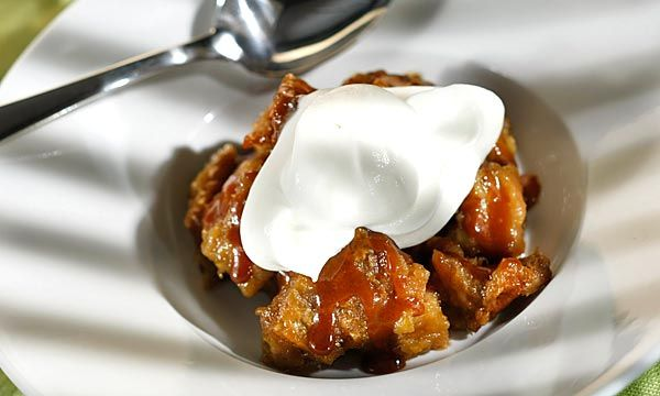 rum caramel and banana bread pudding recept yummly bread pudding and ...