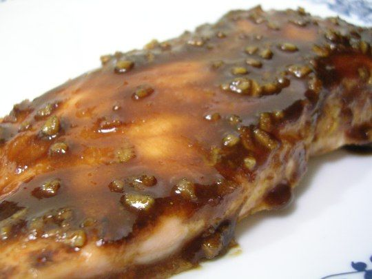 Balsamic And Raisin Glazed Salmon Recipes — Dishmaps