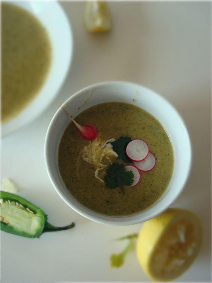 vegan gluten free spicy zucchini soup | Low Carb | Pinterest