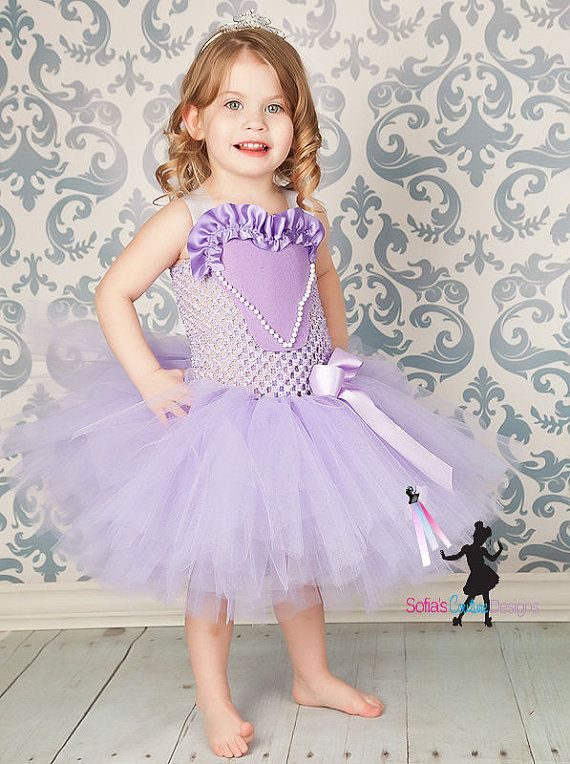 Sofia the First inspired dress