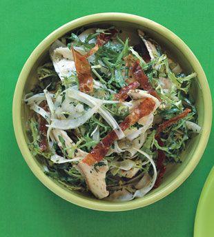 Artichoke, Fennel, and Crispy Prosciutto Salad. has all my favorite ...