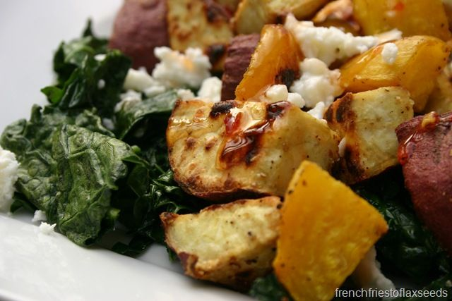 Roasted Sweet Potato & Beet Salad | Nom Nom Nom - Soups & Salads | Pi...