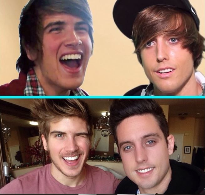 Tyler oakley and sawyer hartman and joey graceffa