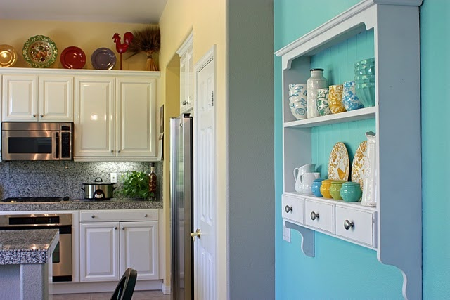 Turquoise Kitchen Accent Wall Dream Home Pinterest