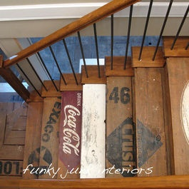 Eclectic staircase reclaimed