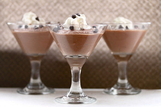 Chocolate Ricotta Mousse - light dessert | Maybe when I'm not lazy ...