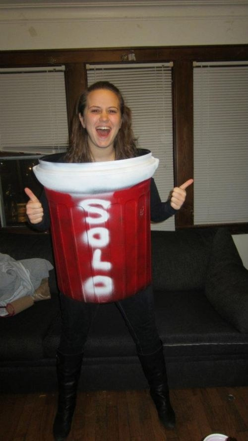 Red Solo Cup .... Halloween Costume | Love this! | Pinterest