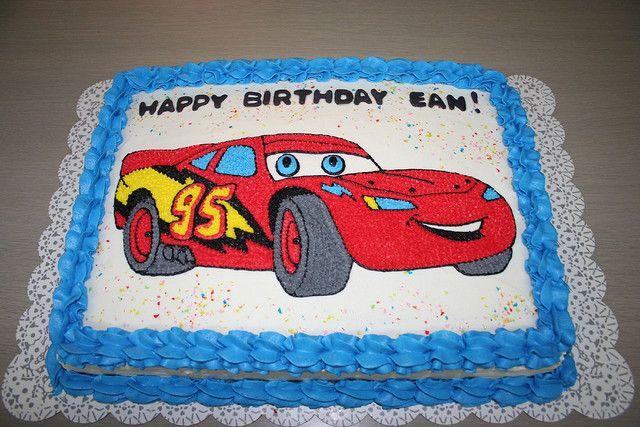 Lightning Mcqueen Birthday Cake Designs : Lightning McQueen Birthday Cake Kids birthdays ideas ...