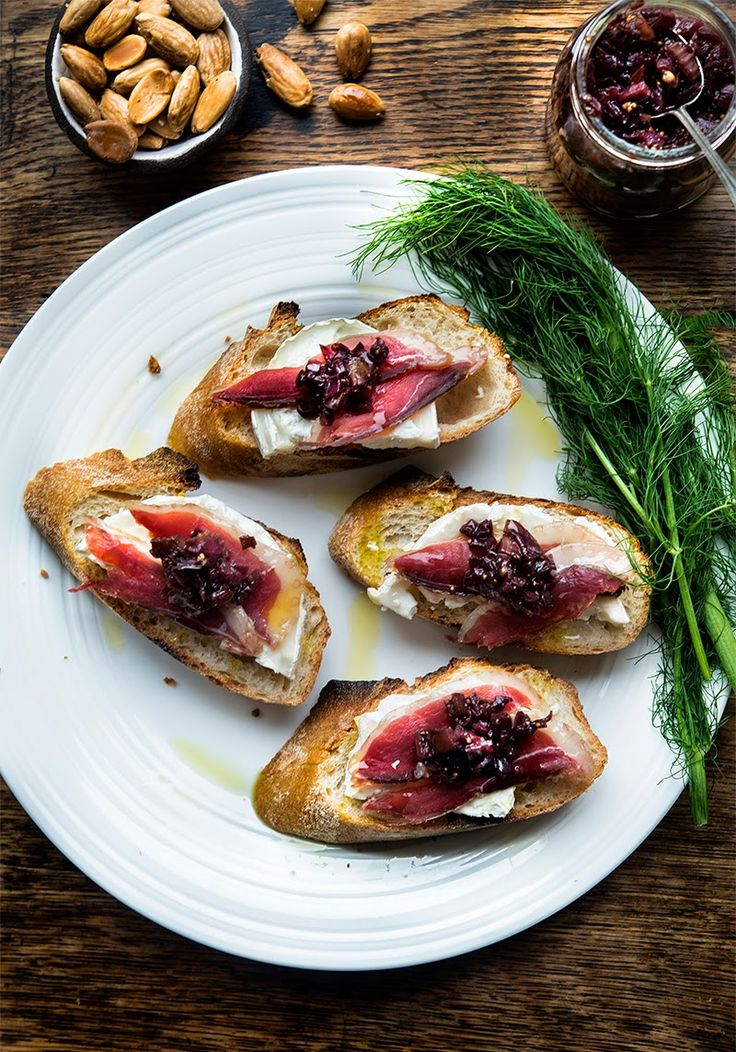 Duck Prosciutto | Wild Greens and Sardines | Pinterest