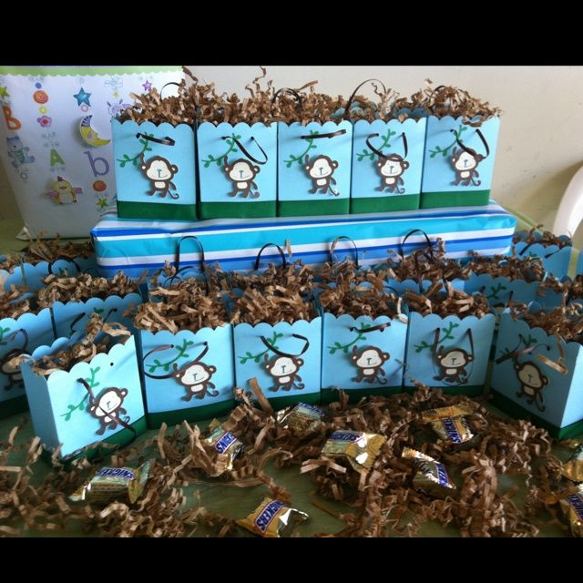 Pinterest discover and save creative ideas - Monkey baby shower favors ideas ...