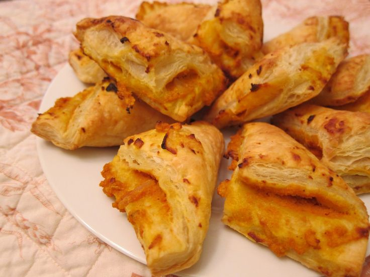 savory pumpkin turnovers | Yum | Pinterest