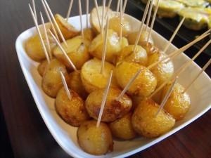 SALT & VINEGAR ROASTED NEW POTATOES | Recipes | Pinterest