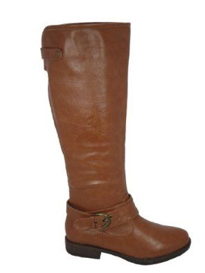 Montage-08 Riding Buckle Knee High Boot --- http://www.pinterest.com