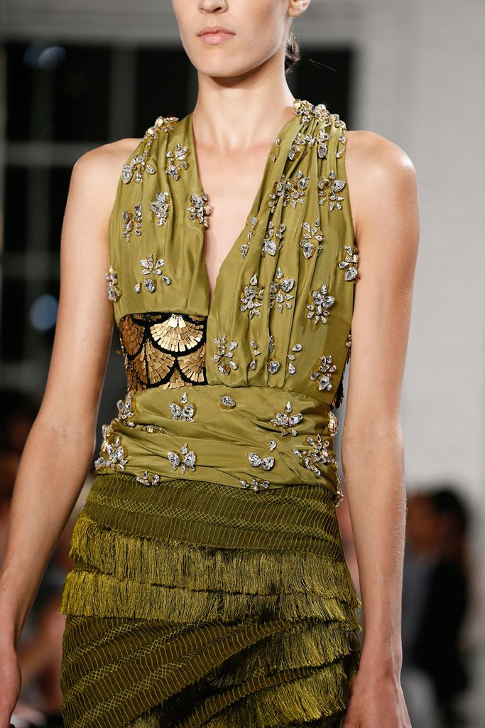 Altuzarra Spring 2013 RTW, Look 21 Detail  // from style.com