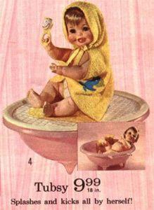 Vintage Tubsy Doll