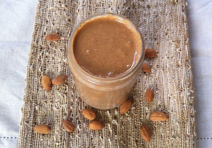 Homemade Almond Butter | Recipe