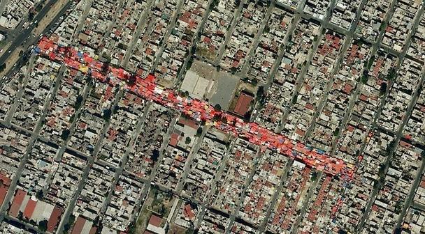 tianguis en la Ciudad de Mexico, DF