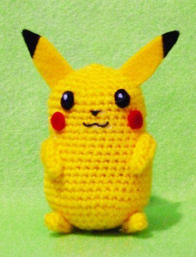Erin Amigurumi Pokemon : Crochet Pikachu Pokemon Amigurumi- Finish Doll