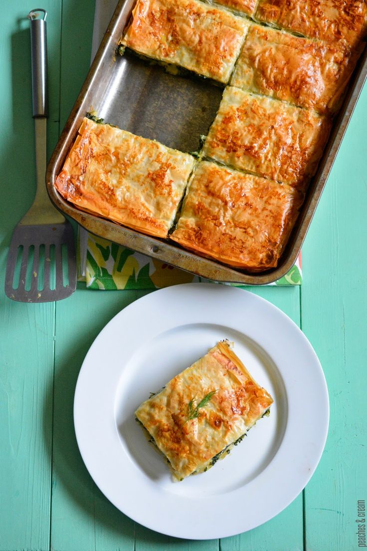 Swiss Chard & Spinach Pie | Eat My Garden! | Pinterest