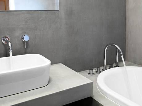 Cementová stěrka do koupelny