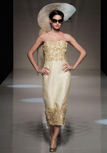 Gold Brautkleid  brautkleider  Pinterest