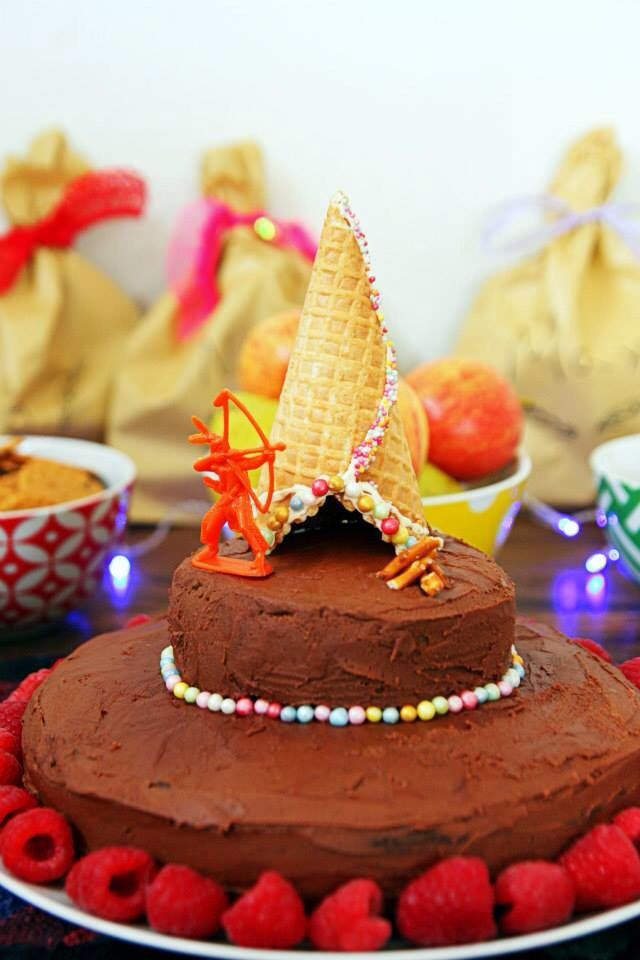 Teepee kids birthday cake party time for kids pinterest