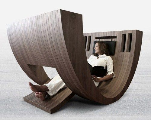 Modern Chair Wooden Reading Kosha Small Space Adaptive