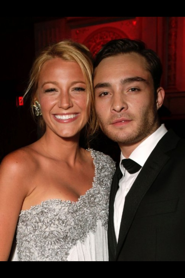 Blake lively and Ed westwick | My lovelies | Pinterest Ed Westwick