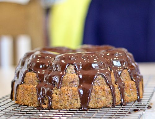 Banana Bundt Cake With Chocolate Ganache Recipes — Dishmaps