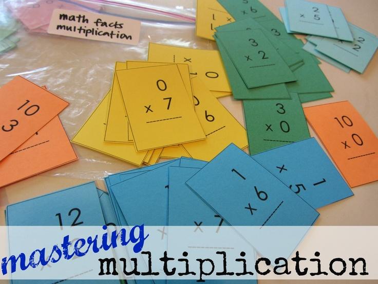 mastering multiplication tables