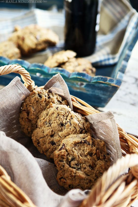 Gluten-Free Oatmeal, Chocolate Chunk & Cranberry Pecan Cookies ...