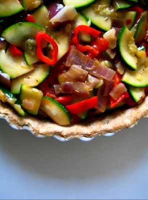 Summer Lovin' Vegetable Tart | Healthy recipes with tasty outcomes ...